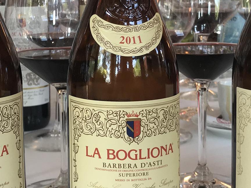 Kerin O Keefe 92 Points For 2011 La Bogliona Barbera D Asti Scarpa Is Us